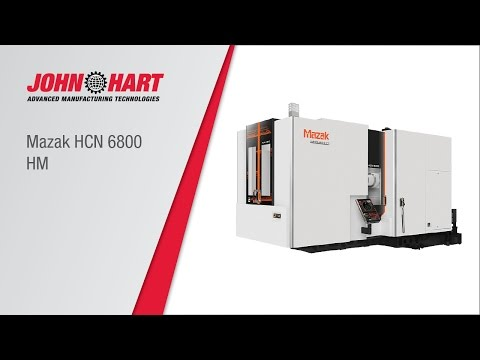Mazak Horizontal Centre Nexus 6800-II - YouTube