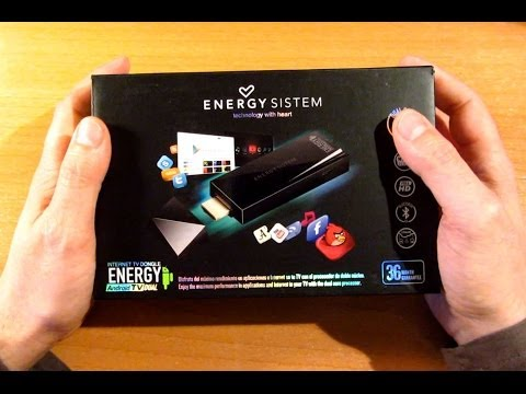 Unboxing Energy Android