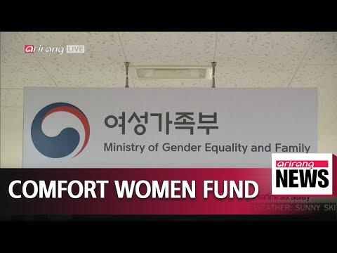 South Korean Government Approves Budget To Replace Japan's Funds For Sex Slavery Victims