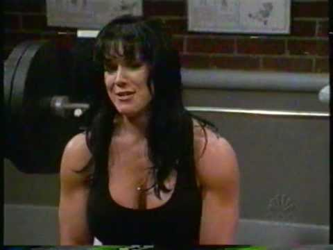 Chyna interrupted during her workout by Kristen Johnston