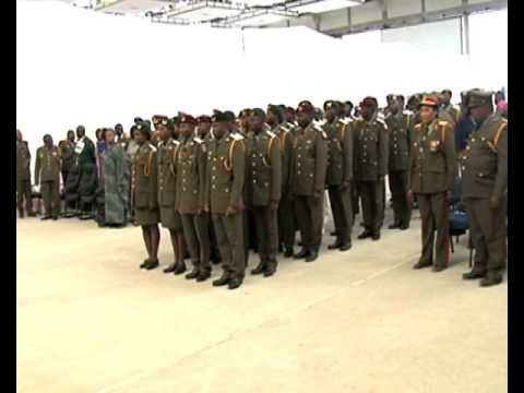 President Geingob commissions  42 cadet officers into NDF-NBC