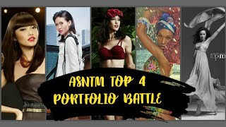 "AsNTM: Top 4 ""The Girls Who Didn't Made It To Finale"" Portfolio Battle"