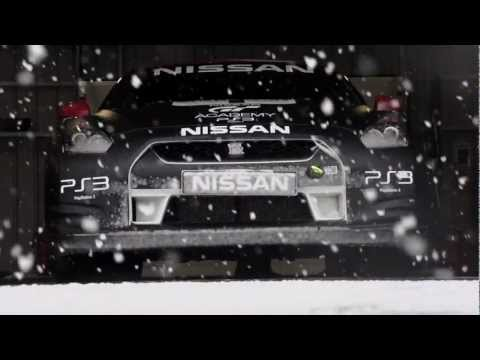 GT Academy snow ball fight - Middle East & South Africa Race Camp
