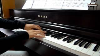 Kwan Gor吳業坤【被單身的人】鋼琴版  piano by CHM