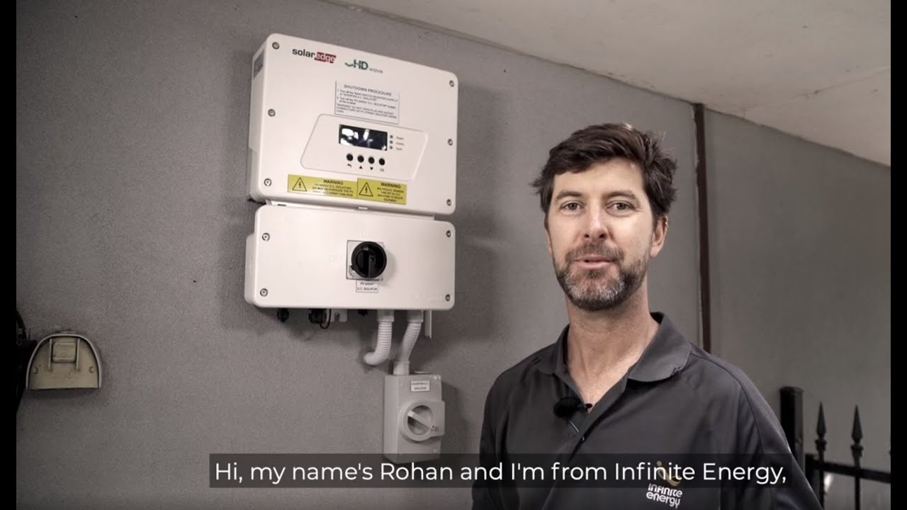 How to restart your SolarEdge Inverter | Infinite Energy | Support