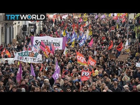 France's public sector goes on strike | Money Talks
