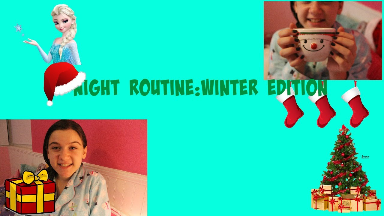 Night Routine:Winter Edition - YouTube