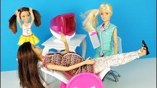 ЧТО СЛУЧИЛОСЬ С МАМОЙ ? Мультик #Барби Куклы для девочек Канал про Школу Ikuklatv