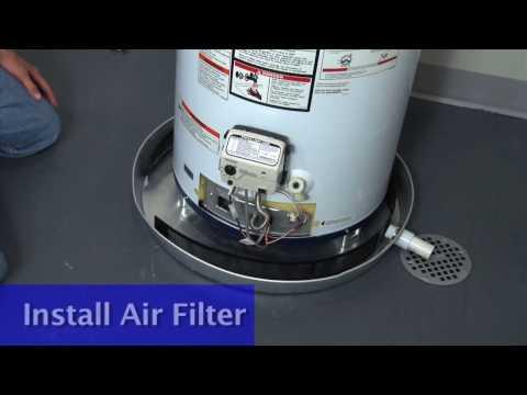 Smith University Gas Water Heater Installation