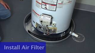 A.O. Smith University Gas Water Heater Installation