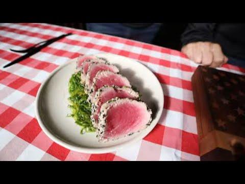 Gordon Ramsay's Recipe: Seared Ahi Tuna two ways on the Grill