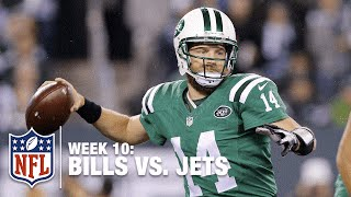The Many Faces of Ryan Fitzpatrick | Bills vs. Jets (Week 10) | NFL