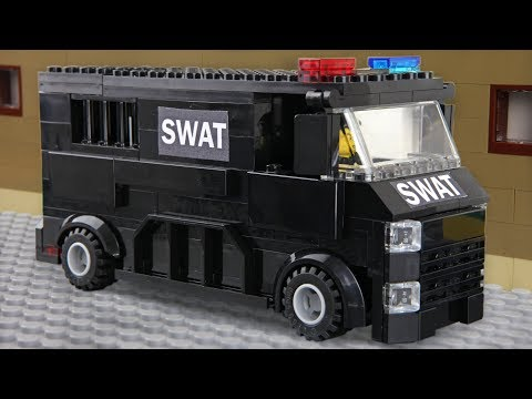 Lego SWAT - invisible Man Prison Break
