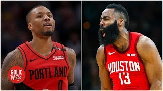 Rockets and Blazers are the Warriors' toughest matchups in the West - Bruce Bowen | Golic and Wingo