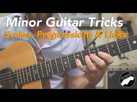 Minor Guitar Tricks - Spanish Licks, Scales & Progressions