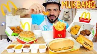 موكبانغ ماكدونالدز - وجبة متنوعة من الماكدونالدز ماكبانغ McDonald's Eating Show | Mukbang 맥도날드 먹방