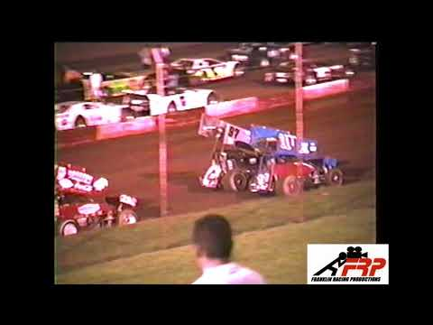 Dixie Speedway Woodstock Ga Untied Sprint Car Series 8 2 03