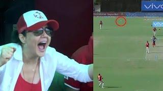 IPL 2017: Happy Moments Of Preity Zinta In IPL-10 Match At Mohali Between KXIP vs DD