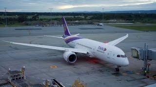 Thai Airways Boeing 787 Dreamliner Economy Class Flight Review: TG484 Perth to Bangkok Suvarnabhumi