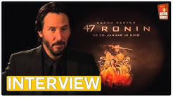 47 Ronin | Keanu Reeves EXCLUSIVE Interview (2014)