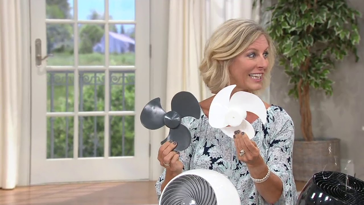 Download Woozoo Whole Room Oscillating Fan with Remote by Iris USA on QVC