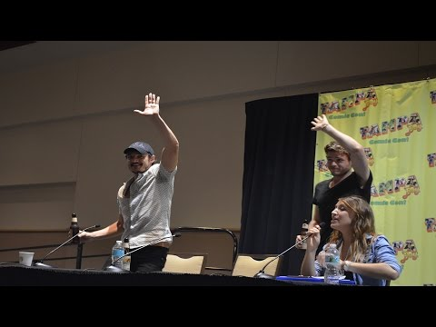 Pedro Pascal &Richard Madden Saturday Panel Tampa Bay Comic Con Raw footage 1080P HD part #1