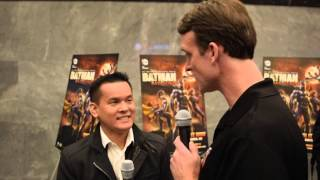 Jay Oliva Is Interviewed At The Batman: Bad Blood World Premiere
