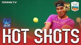 Hot Shot: Nadal Turns Defence Into Offence At Monte-Carlo 2017