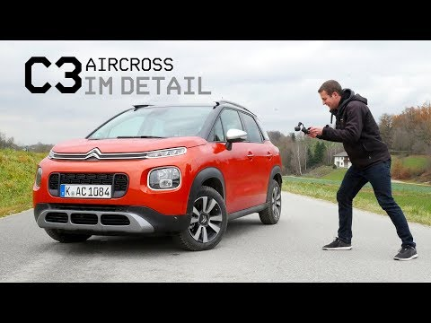 2018 Citroen C3 Aircross im Detail | Rundgang und Kaufberatung / Fahr doch HD
