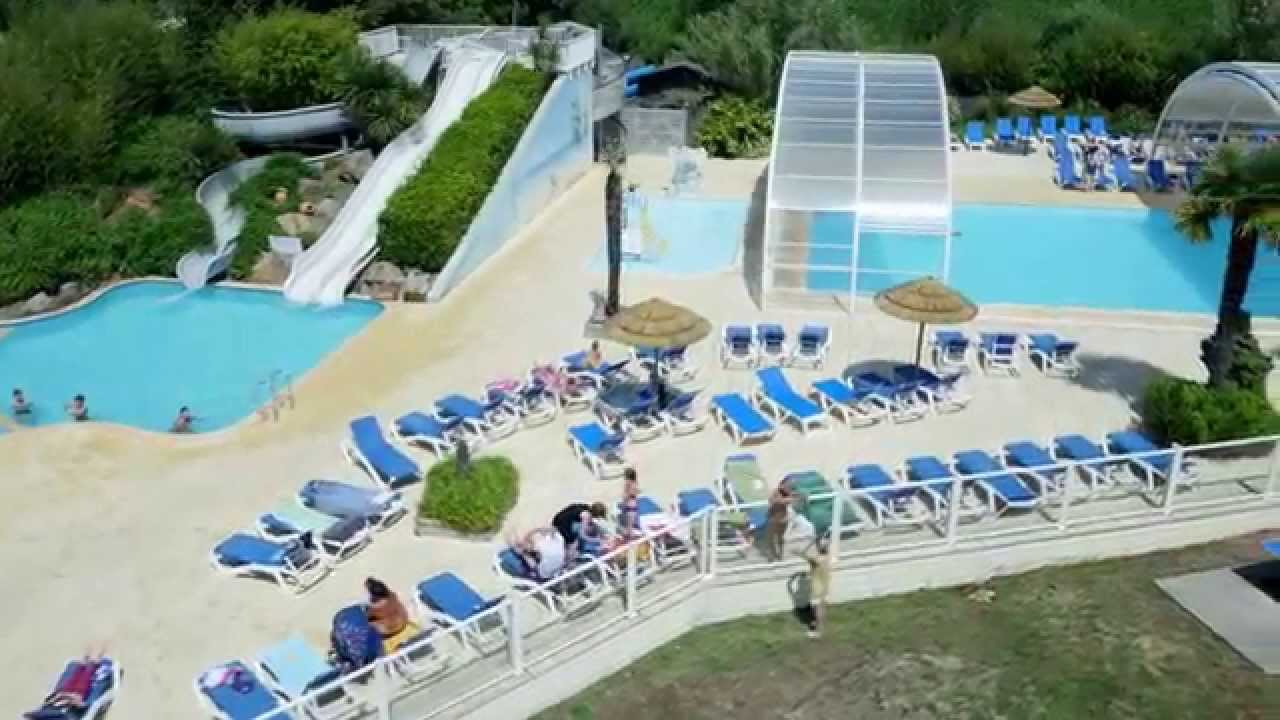 Le camping kerzerho en 2015 youtube for Camping golf du morbihan piscine couverte