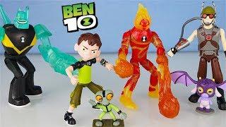 BEN 10 - Unboxing di 4 Personaggi della serie [Apertura in italiano]