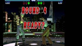 Tekken 2 - Lee Vs Lei (Hard Mode) Vizzed.com - User video