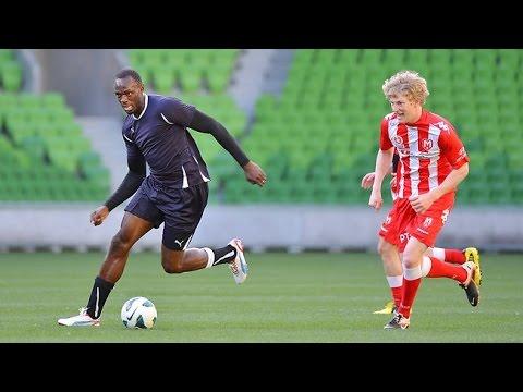 Usain Bolt To Join German Football Club Training @ Borussia Dormund With Gotze and Reus