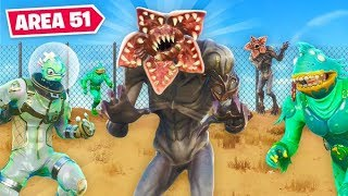 ALIENS Escaping AREA 51 In Fortnite!