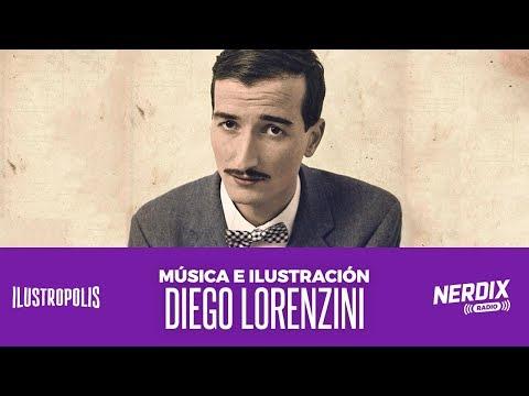 El camino entre la música y la ilustración: Hoy nos visita Diego Lorenzini | Ilustropolis 18