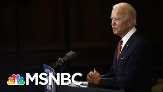 Joe Biden Hits Trump, Vows Not To 'Fan The Flames' Of Racial Division | The 11th Hour | MSNBC