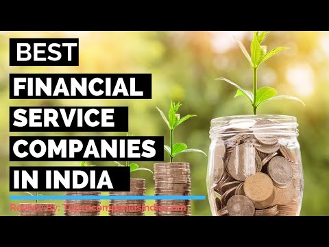 Top 10: Best Financial Services Companies In India 2020