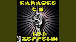 Immigrant Song (Karaoke Version) (Originally Performed By Led Zeppelin)