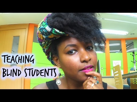 How I Teach Blind Students | Create Long Lasting Materials