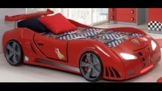 видео Кровать-машина на подиуме Тесла