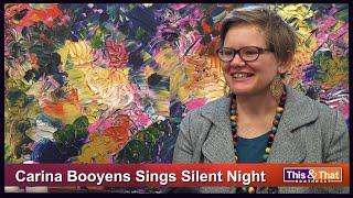 Artist Carina Booyens Sings