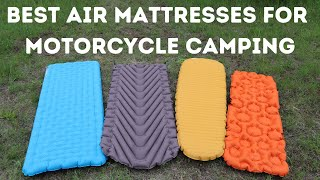 Best Air Mattresses for Motorcycle Camping (Top Picks Pros and Cons)