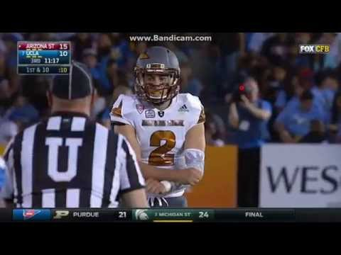 College Football: UCLA Bruins Vs The Arizona State Sun Devils