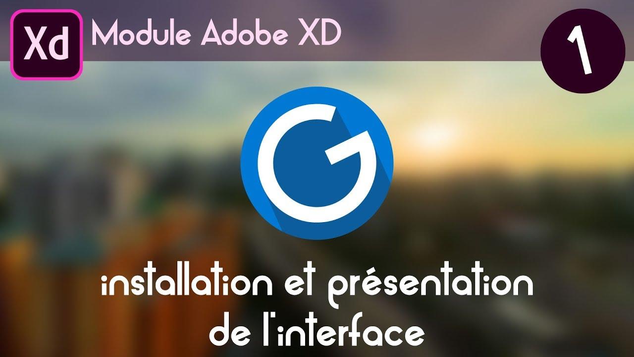 Download Tuto Adobe XD 1: installation et présentation