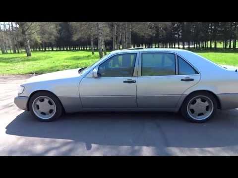 Mercedes-Benz S-Class (W140) видео обзор