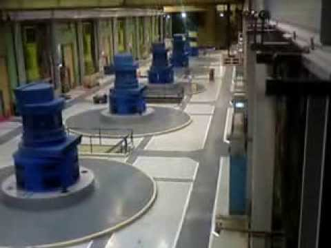 Manapouri Underground Hydroelectric Power Station Tour. Part