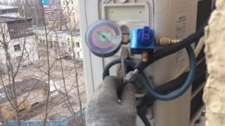 Демонтаж внутреннего и наружного блока кондиционера