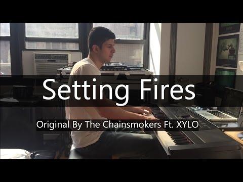 """Setting Fires"" - The Chainsmokers ft. XYLO (Piano Cover) - Niko Kotoulas"