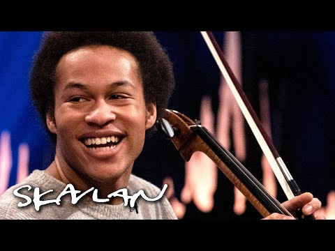 Sheku Kanneh-Mason received a life-changing phone call from Meghan Markle | SVT/TV 2/Skavlan