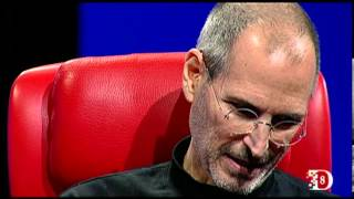 Steve Jobs in 2010, at D8.